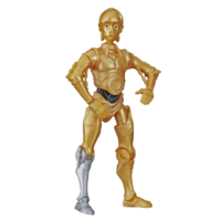 Star Wars Galaxy of Adventure C3PO Action Figure