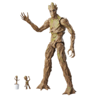Guardians of the Galaxy Marvel Legends Groot Evolution - Exclusive