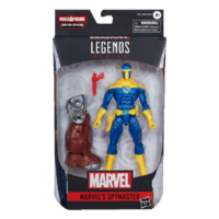 Black Widow Marvel Legends Spymaster (Crimson Dynamo BAF)