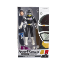 Power Rangers In Space Lightning Collection Black Ranger